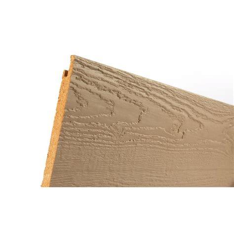 truwood sure lock primed hardboard siding common 1 2
