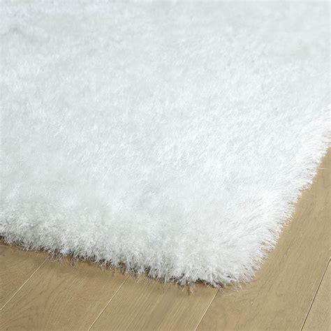 white rugs 8x10 8x10 designer modern contemporary tufted plush silky shag white area rug ebay