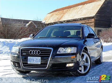 Audi A8l Review List Of Car And Truck Pictures And Auto123