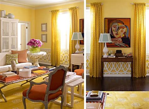 Yellow Blue And Orange Living Room Yellow Orange Living Room Modern Chic Ornament Panels