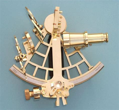 sextant compass premium quality c plath reproduction brass sextant from