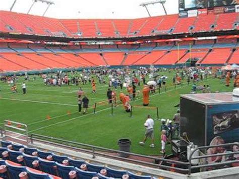miami dolphins seat view miami dolphins seat view at sun stadium section 153