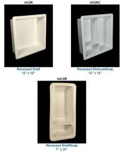 recessed bathroom shelves recessed ceramic soap dishes more in 33 colors from hcp