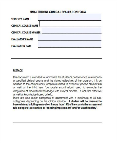 Transfer Credit Assessment Form Mcgill Student Evaluation Form In Pdf