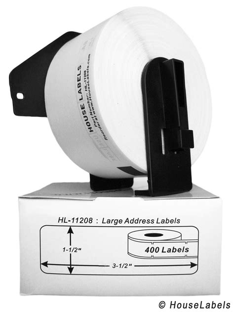 Label Cartridge Dk 11202 White Shipping Label self adhesive labels for all printers houselabels