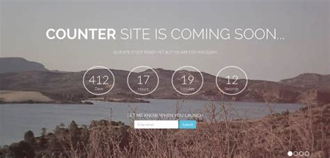 Bootstrap Themes Free Countdown | 50 free bootstrap templates themes