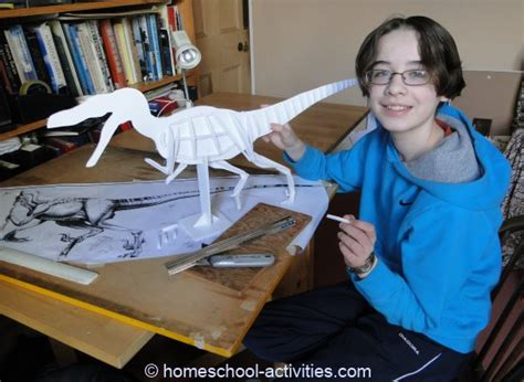 How To Make A Dinosaur Model From Paper Mache - how to build a dinosaur