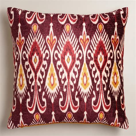 purple and yellow taza throw pillow world market