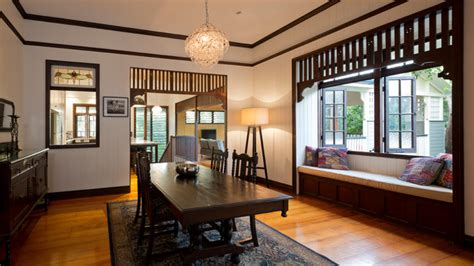 queenslander rooms queenslander fig tree pocket traditional dining room brisbane by elaine mckendry architect