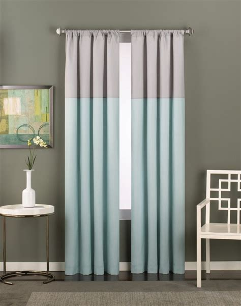 drapes modern 25 best ideas about color block curtains on pinterest