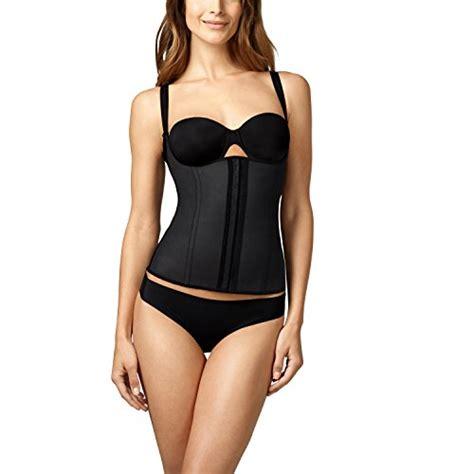 Squeem Seductive Vest Black L squeem firm compression miracle vest shapewear black