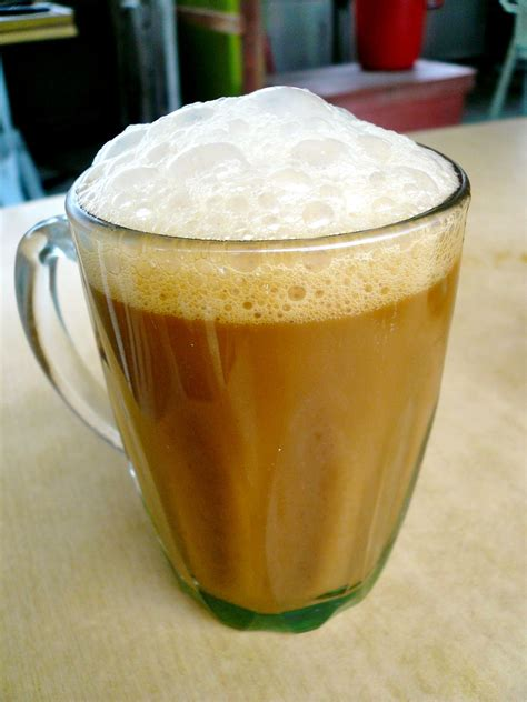 Tea Tarik the common malaysian breakfast drnaz his network of