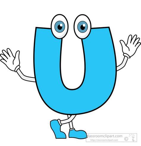 Character Letter U Alphabets Letter U 2 Alphabet Clipart Classroom Clipart