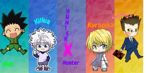 cool anime like hunter x hunter hunter x hunter chibi wallpaper by cookiederphannah on