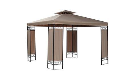 pavillon 3m pavilion gazebo 3m x 3m x 2 6m beige waterproof g006a
