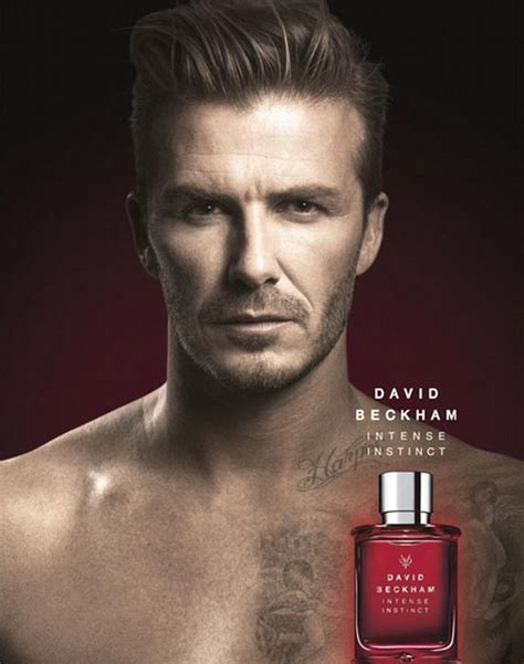 david beckham shows off harper tattoo in fragrance ad
