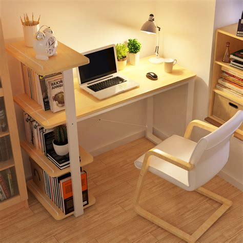 Bookcase With Computer Desk Chao Soil Minimalist Modern Home Desktop Computer Desk Combination Bookcase Bookcase Simple