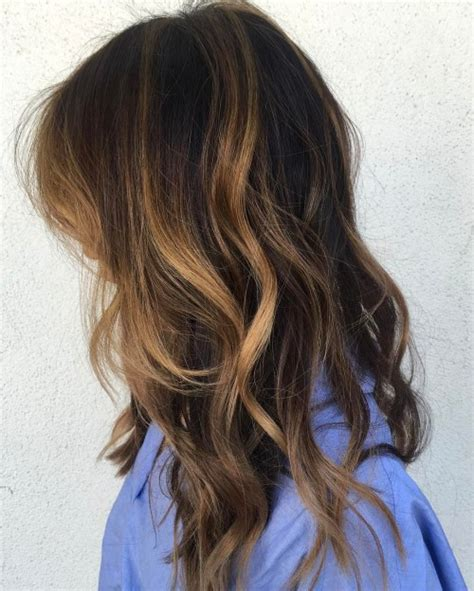 best partial caramel highlights 20 jaw dropping partial balayage hairstyles