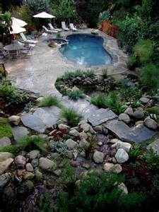 Landscape Rock Los Angeles Swimming Pools Rustic Pool Los Angeles By Stout
