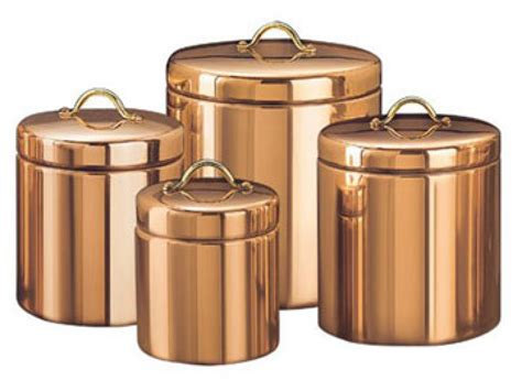 copper canisters kitchen copper kitchen accessories kitchen canisters