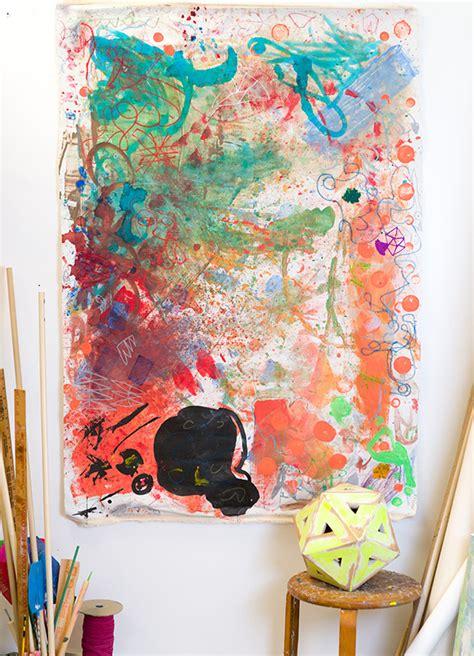 large scale mural workshop  kids meri cherry