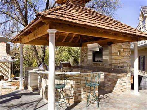 Small Outdoor Kitchen Design outdoor small rustic outdoor kitchen designs rustic