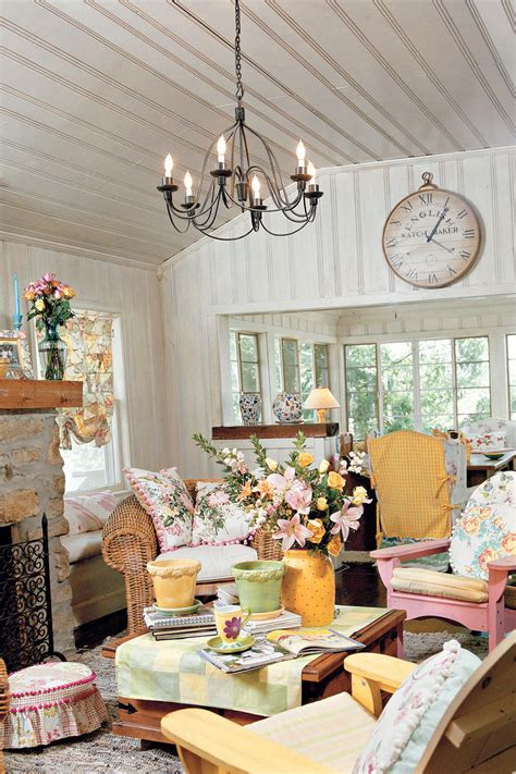 At The Cottage Decorating With - 106 living room decorating ideas southern living