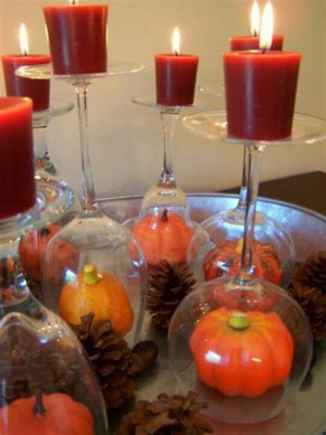 easy fall table decorations simple fall table centerpiece adorable photos