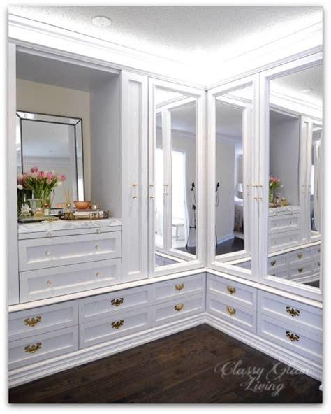 Custom Mirrored Closet Doors Our Diy Custom Dressing Room Is Almost Done Mirrored Closet Doors Led And Closet Designs