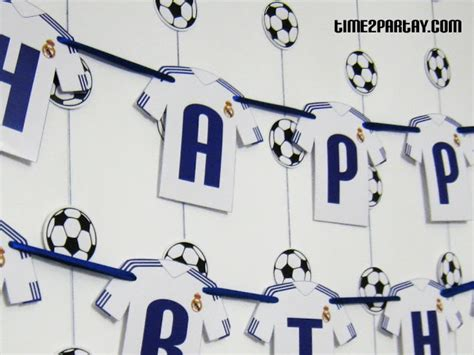 party themes on made in chelsea kit banner time to partay real madrid soccer themed