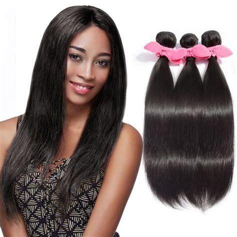 50 gram bundles of hair is not enough for a full head natural black 3 bundles straight brazilian virgin hair