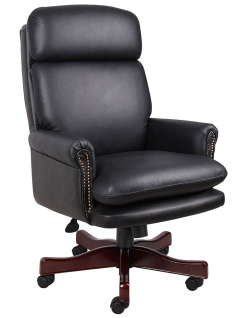 pin executive office chair leather computer desk furniture