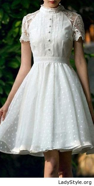 White Vintage Dress keep reading