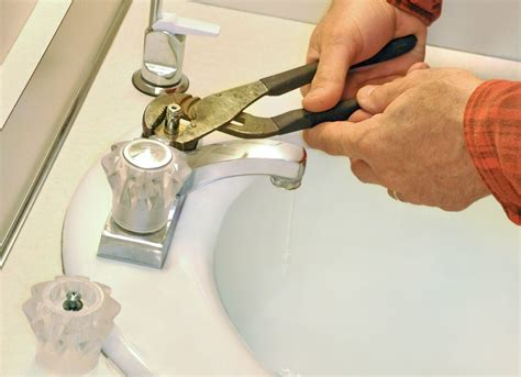 how to change bathroom faucet washer stop a leaky faucet by replacing the washer home repair
