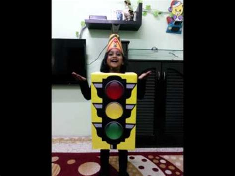 kid s fancy dress traffic signal by noha nawaz