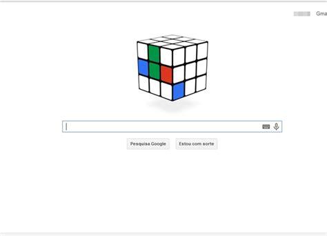 doodle do cubo magico comemora 40 anos de cubo m 225 gico doodle especial