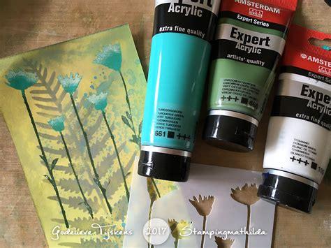 Stampingmathilda Darkroom Door Stencils Ferns And