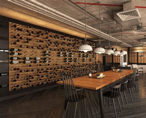 Nyc Private Dining Rooms by Wine Displays For Restaurants And Bars Stact Wine Racks