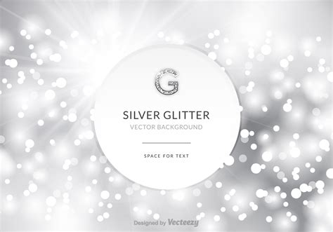 silver layout vector free silver glitter vector background download free