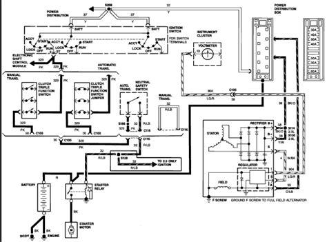 1988 ford ranger fuel wiring diagram get free image