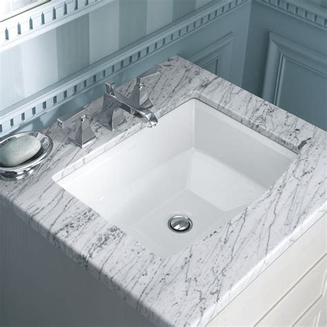 Kohler Archer Undermount Bathroom Sink Reviews Wayfair