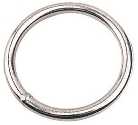 I Ring Hp Model Polos rings 60mm 2 4 inch stainless steel pair the