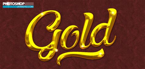how to create a stylish black and gold 3d text effect in free gold photoshop style 4 photoshoplayerstyle