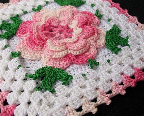 Free Irish Rose Crochet Pattern