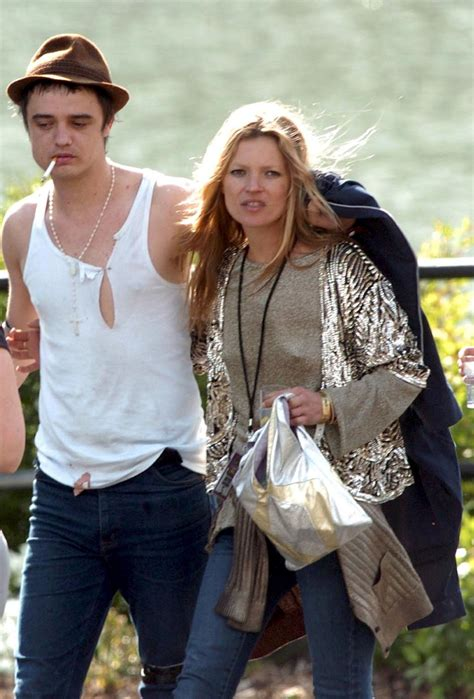 Kate Moss And Pete Doherty by Kate Moss And Pete Doherty 110605 The Stellar Boutique