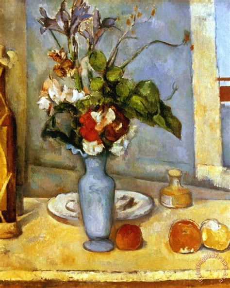 Paul Cezanne The Blue Vase by Paul Cezanne Cezanne Blue Vase 1885 87 Painting Cezanne