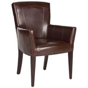 safavieh en vogue dining dale brown arm chair walmart