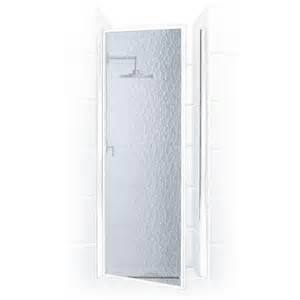 obscure shower door coastal shower doors legend series 28 in x 68 in framed
