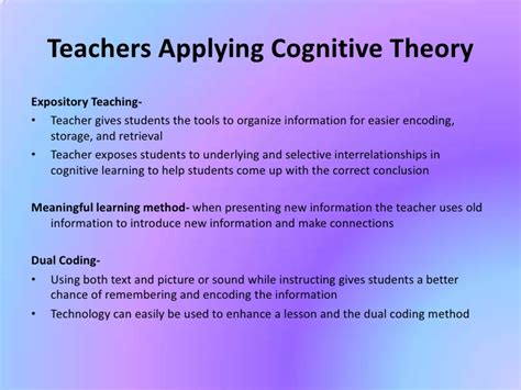 cognitive psychology theory process and methodology books cognitive theory