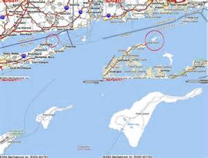 map surrounding plum island it is located 10 miles due